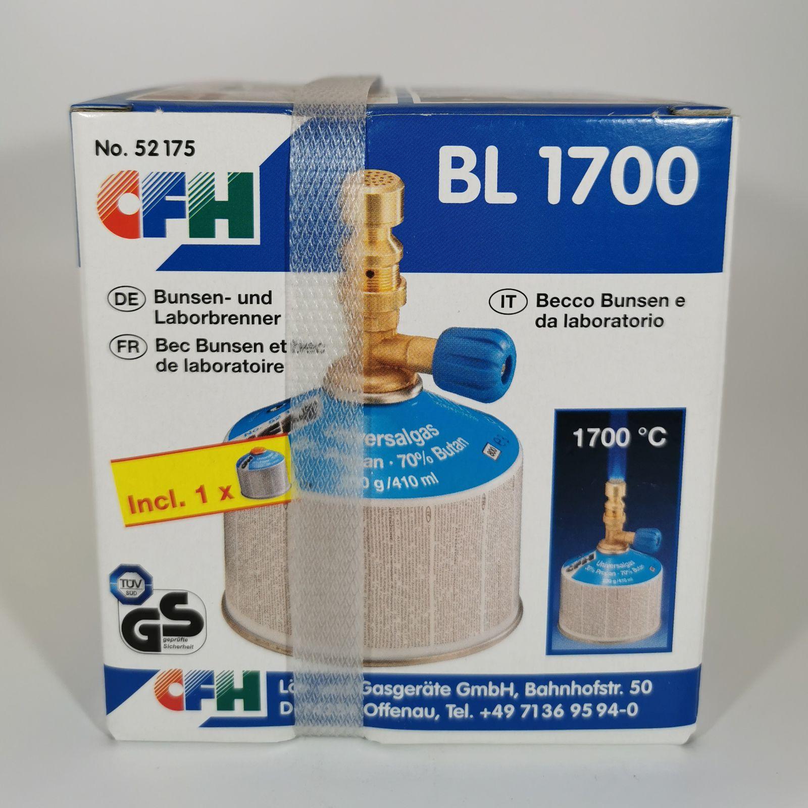 Bunsen- und Laborbrenner BL1700