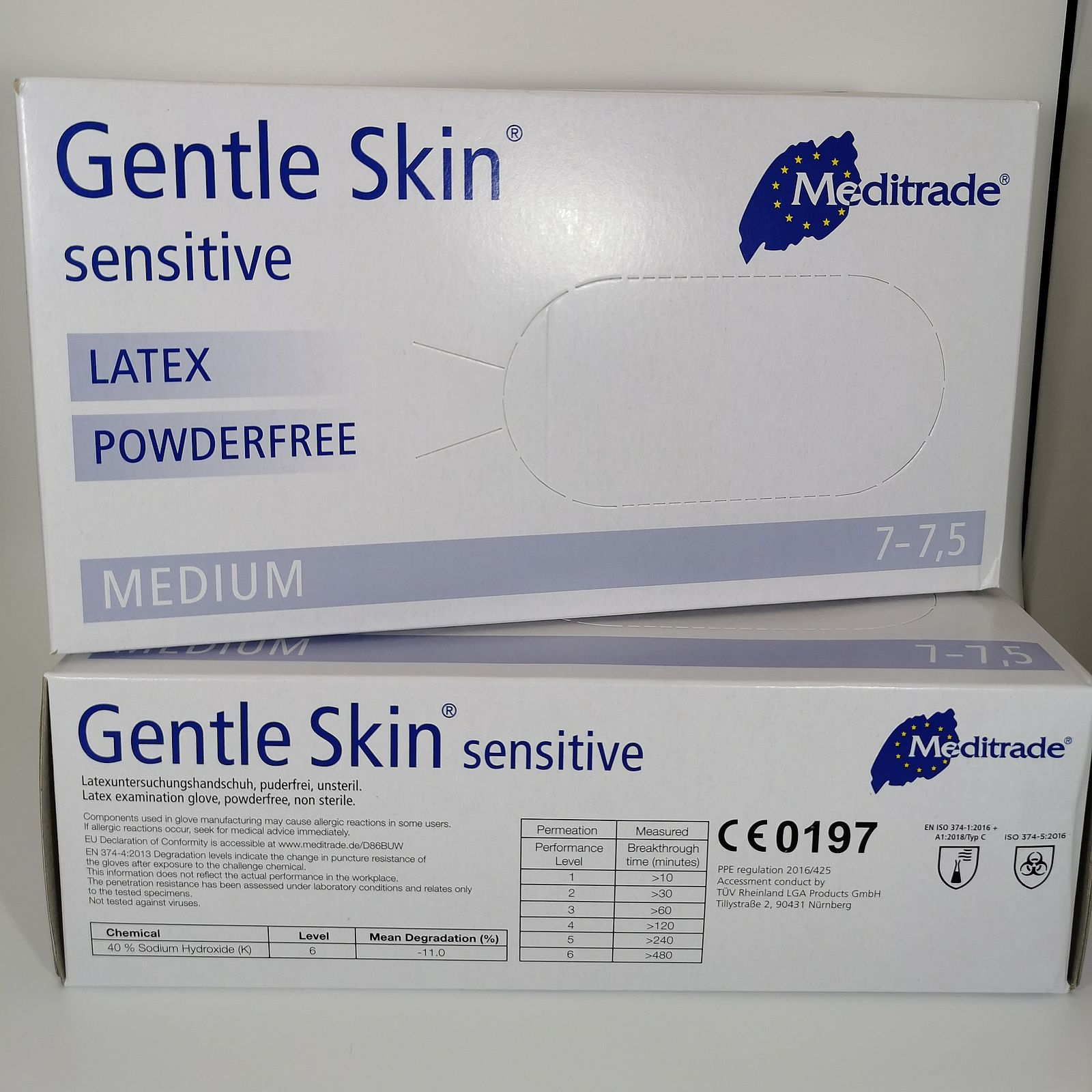 Artikel -Handschuh Gentle Skin M