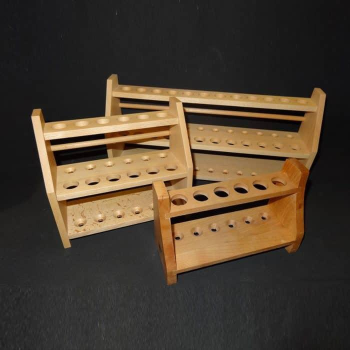 Artikel Reagenzglasgestell Holz
