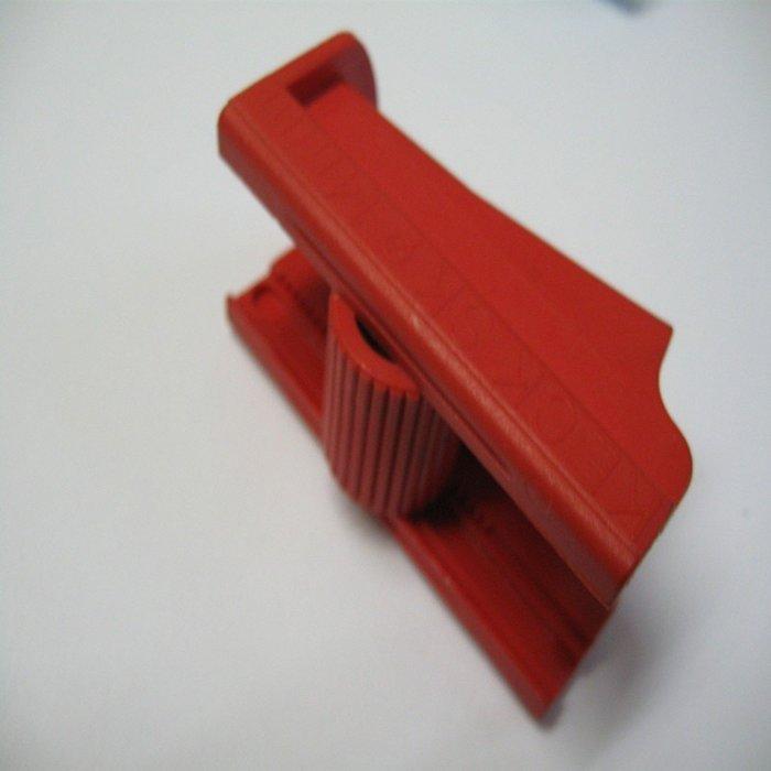 Artikel Schlauchklemme KECK 14 mm rot