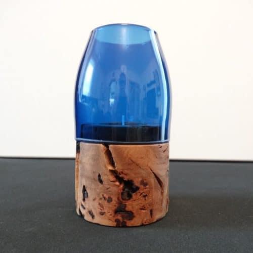 Artikel rebirth Lichtzwerg Holz blau